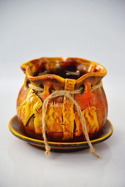 χειροποιητο κεραμικο πουγκι small / large-606