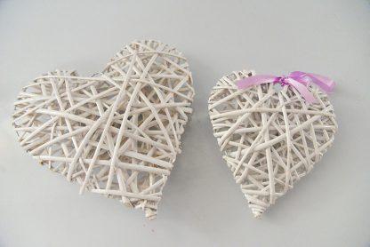 ψαθινο κασπω διακοσμητικο σε σχημα καρδιας10291 / 10290-0