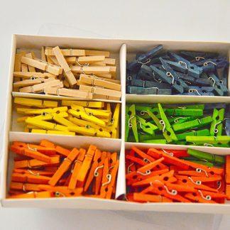 διακοσμητικα μανταλακια σε 6 χρωματα-0